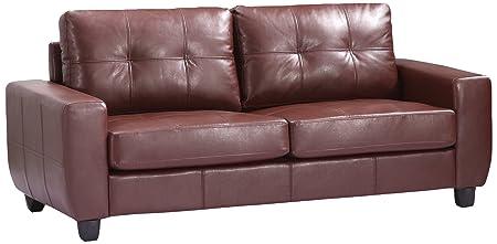Glory Furniture G200A-S Living Room Sofa, Brown