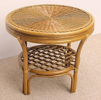rattantisch rattan couchtisch rattan beistelltisch gr d 60 cm h 50 cm us288. Black Bedroom Furniture Sets. Home Design Ideas