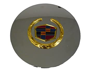 """Universal For Cadillac Car Front Grille Wreath/&Crest Emblem Badge 5.2/"""""""" X 6.2/"""""""