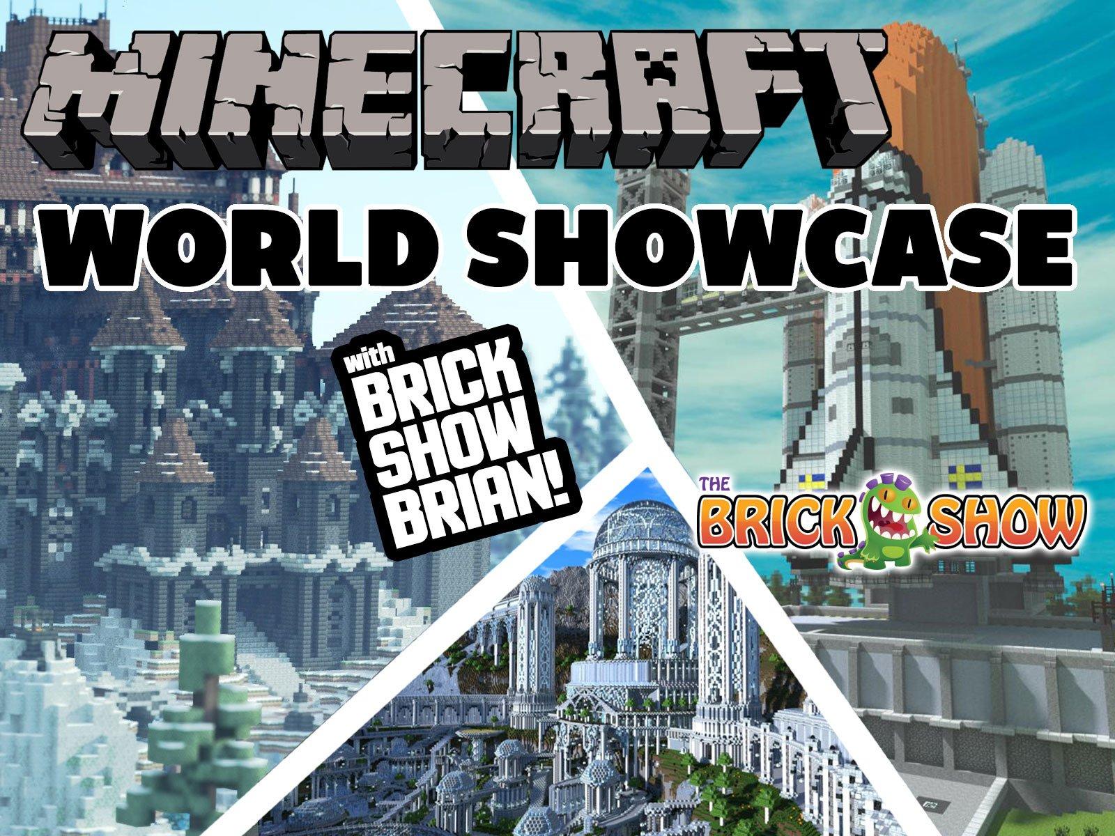 Clip: Minecraft World Showcase with Brick Show Brian - Season 1