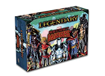 Upper Deck légendaire Expansion Secret Wars Jeu de cartes