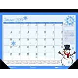 House of Doolittle 2019 Monthly Desk Pad Calendar, Seasonal, 18.5 x 13 Inches, January - December (HOD1396-19)