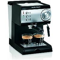 Hamilton Beach 15-Bar Italian Pump Espresso Maker (Black and Stainless)