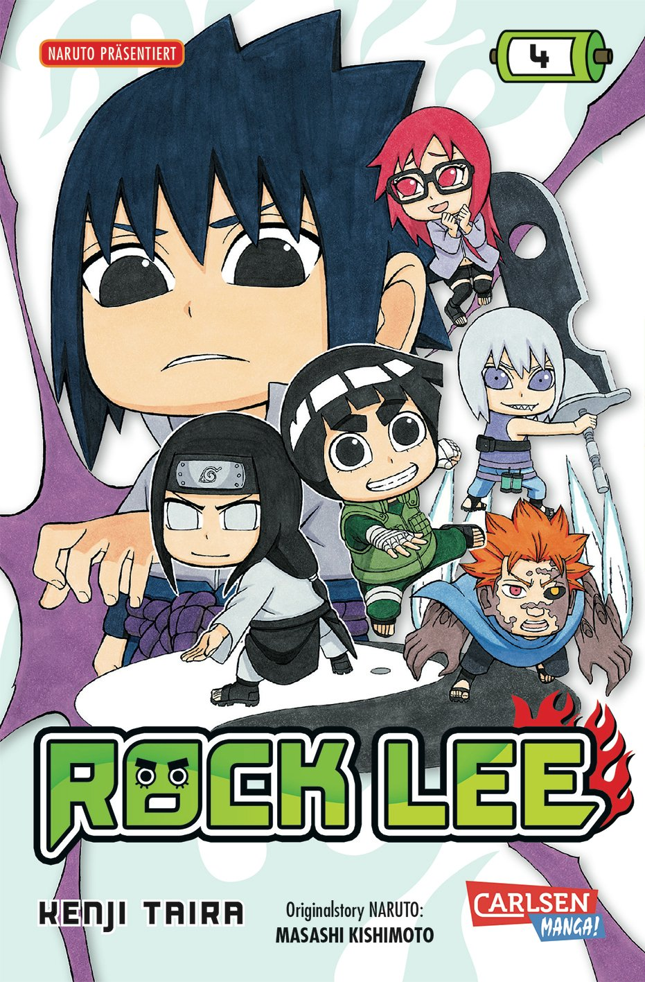 Rock Lee, Band 4