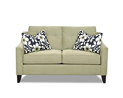 Klaussner Pear Audrina Loveseat, 63 by 37 by 31-Inch