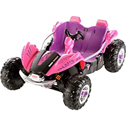 Fisher-Price 12-Volt Battery Power Wheels Camo Dune Racer (Pink)
