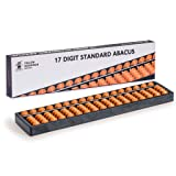 Yellow Mountain Imports Digit Standard Abacus (10.5 in) - Professional 17 Column Soroban Calculator - Both Functional and Educational Learning Tool (Tamaño: 10.5