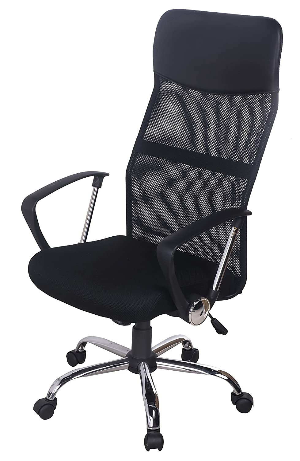High Back Executive Mesh Office Chair Swivel/tilt Chair Computer Desk Chair, Black
