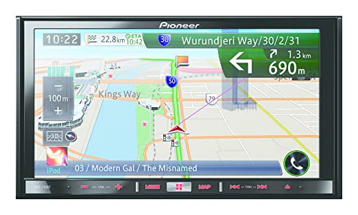 Pioneer AVIC-F50BT GPS Bluetooth Noir