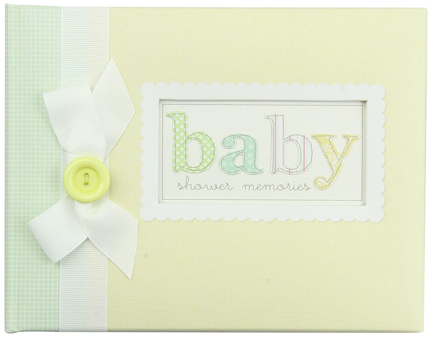 this baby shower keepsake book is more than a guestbook it is a unique