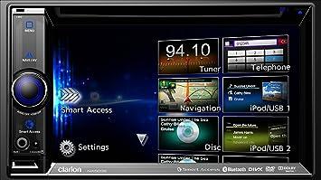 Clarion NX503E GPS Système de Navigation + Ecran Rétractable Europe Fixe, 16:9
