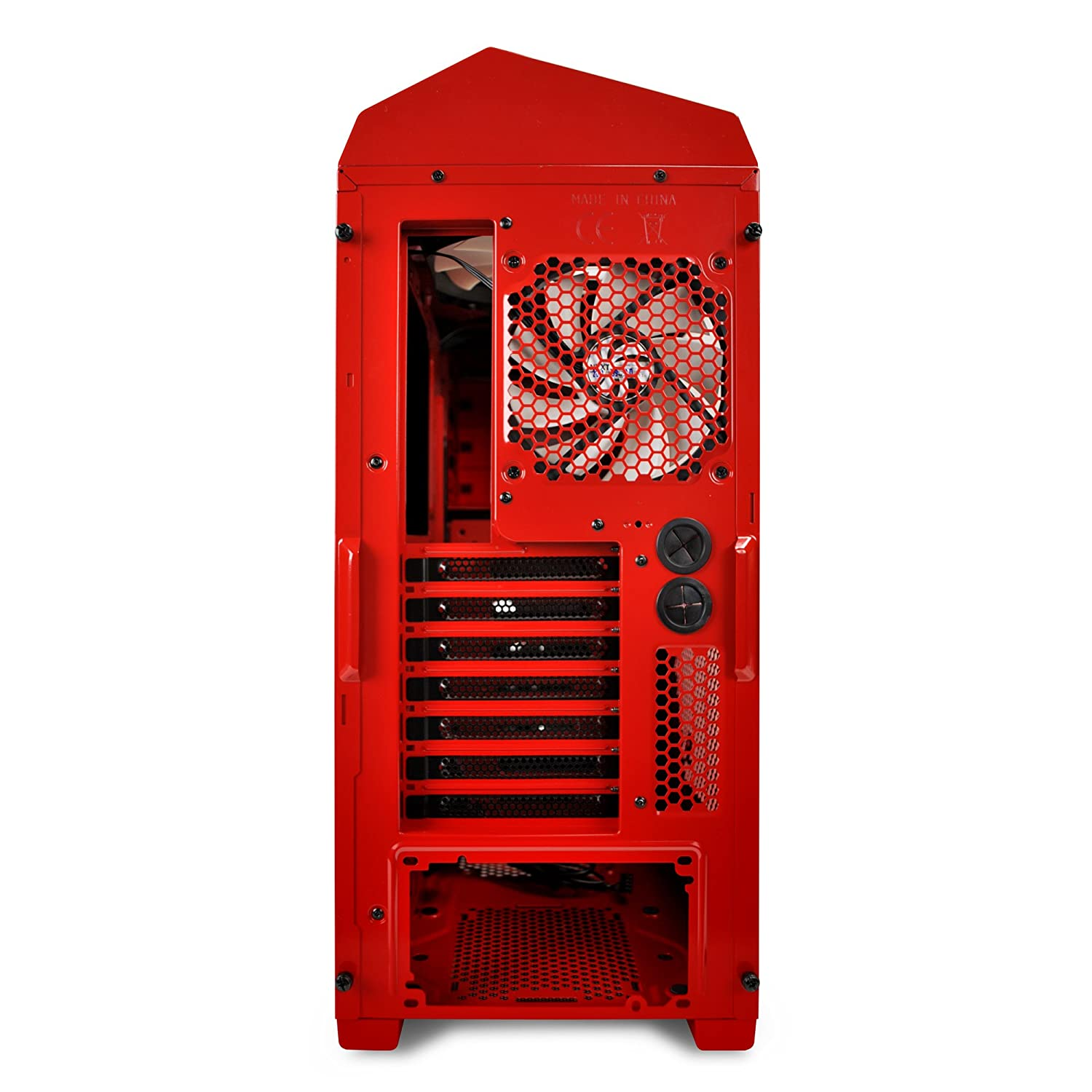 NZXT Phantom 410 Mid Tower USB 3.0 Gaming Case - Red