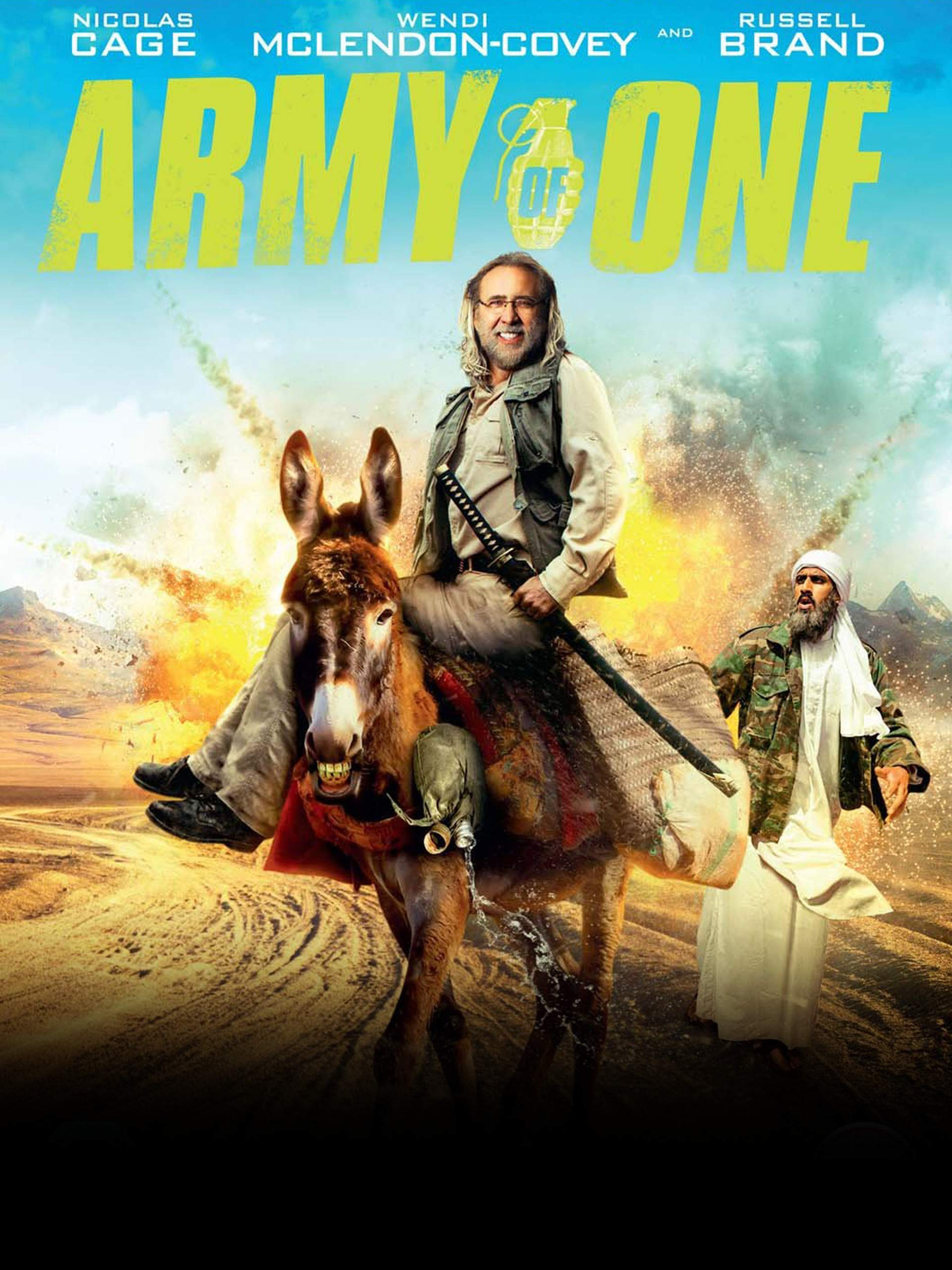 Army of One on Amazon Prime Video UK