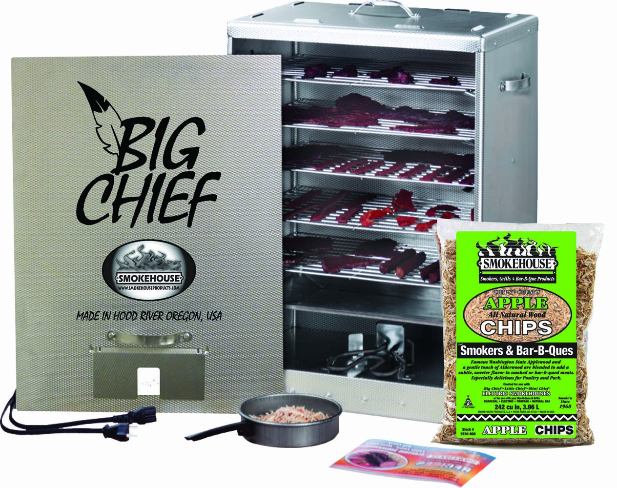 Big Chief Front Load Smoker Review