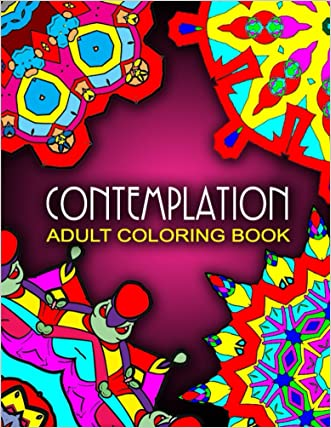 CONTEMPLATION ADULT COLORING BOOKS - Vol.3: coloring books for grown ups sample pack