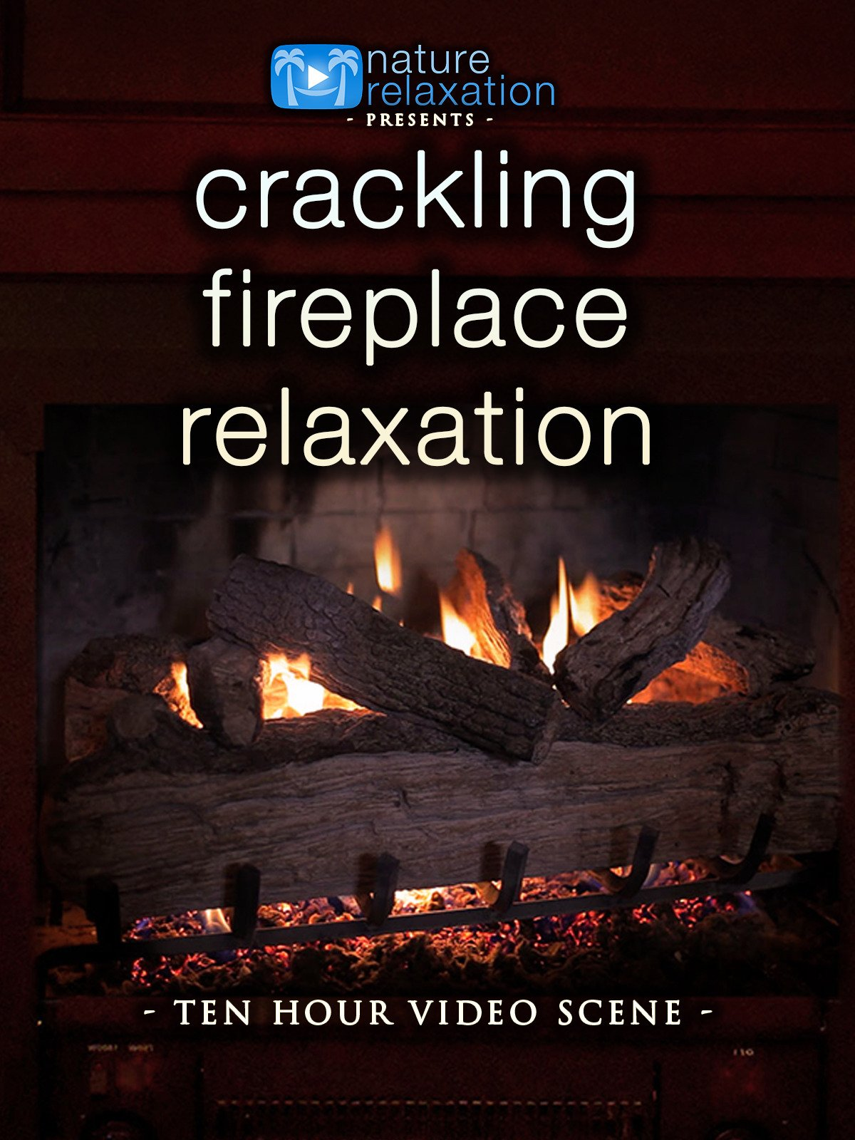 Crackling Fireplace Relaxation