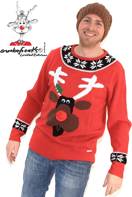 Rudolph Reindeer Christmas Jumper
