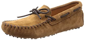Minnetonka Driving Moc: 713 Dusty Brown