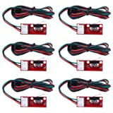 Longruner 6 x Mechanical Endstop Limit Switch with 22AWG Cable for 3D Printer Makerbot Prusa Mendel RepRap CNC Arduino Mega 2560 RAMPS 1.4 LKB01