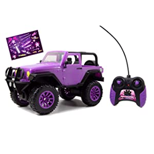 GIRLMAZING Big Foot Jeep