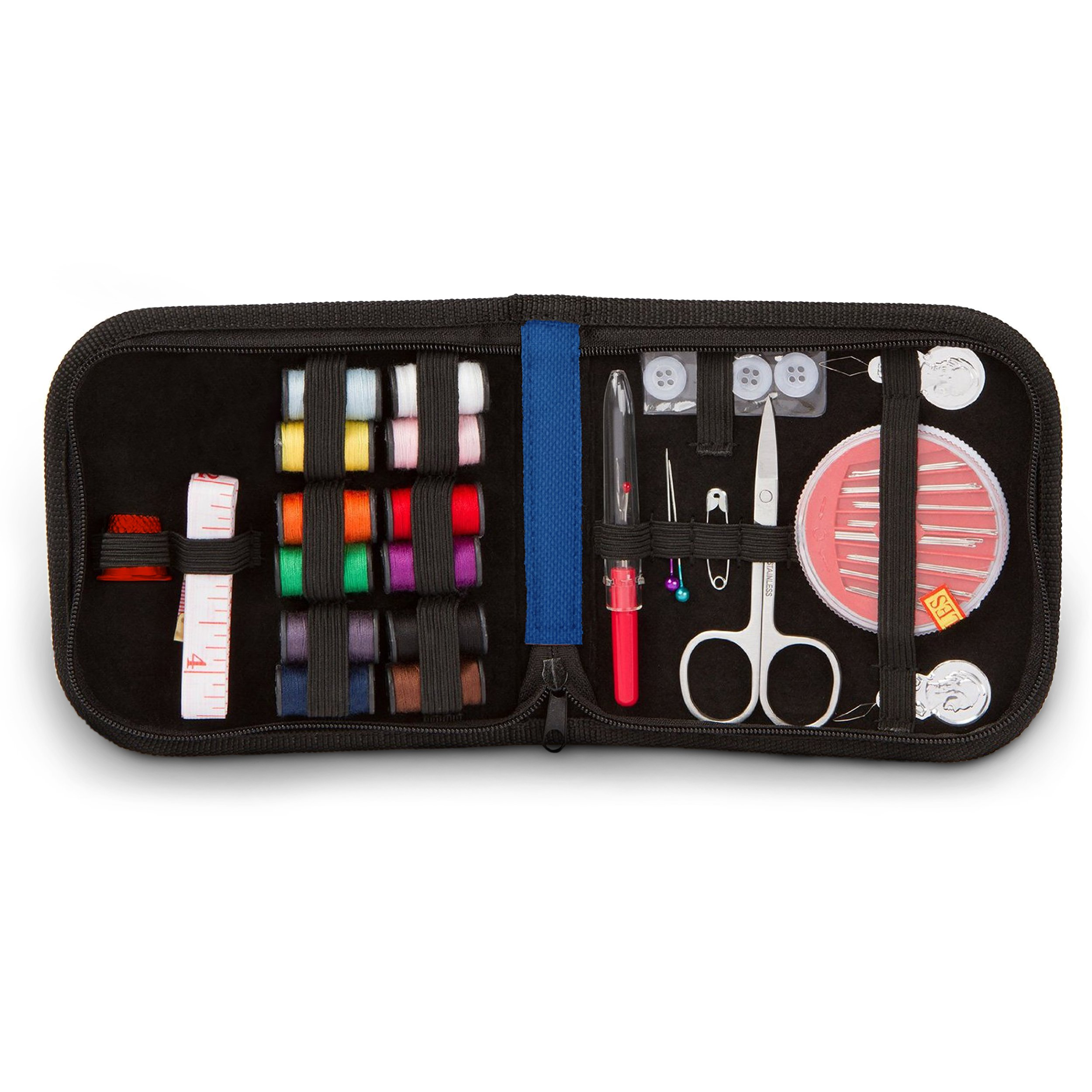 Stitch mend mini sewing kit for travel 10 essential for Kit boite a couture