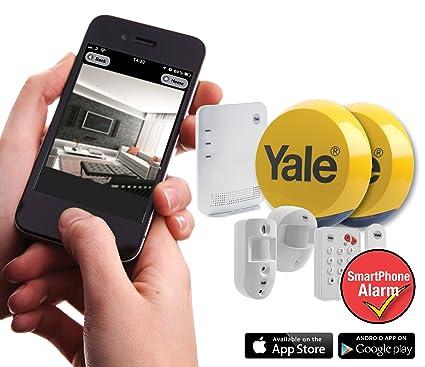 Yale Easy Caméra PIR avec alarme sur smartphone