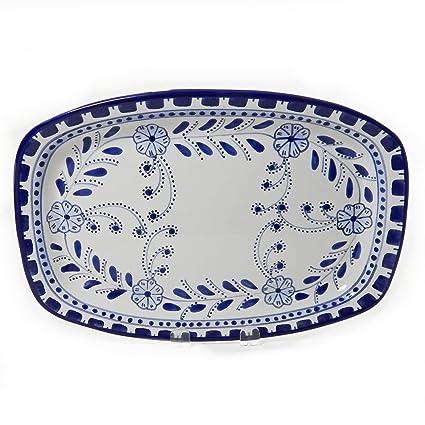 Le Souk Ceramique Rectangular Platter, Azoura Design