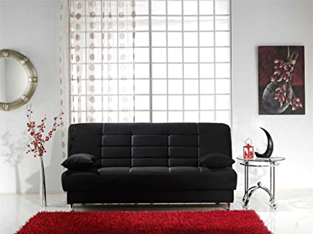 Vegas Sofa Sleeper - Rainbow Black
