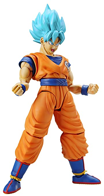 Dragonball Z Figure-rise Standard Plastic Model Kit Super Saiyan God Super Saiya