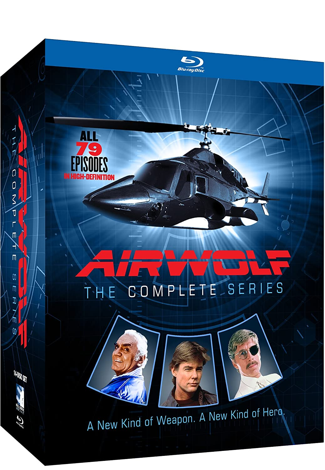 Airwolf - The Complete Series - BD (Blu-ray)