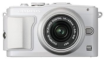 "Olympus E-PL6 Appareil photo hybride Écran LCD 3"" (7,62 cm) 16 Mpix + Objectif 14-42 II mm Blanc"