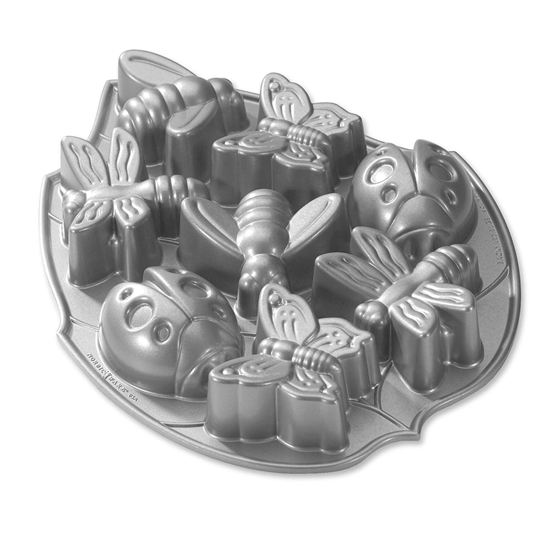 Nordic Ware Platinum Backyard Bugs Pan