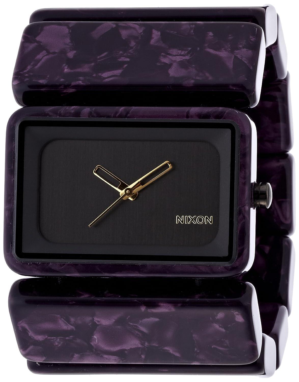 Amazon.co.jp: [ニクソン]NIXON VEGA: GUNMETAL/VELVET NA7261345-00 レディース 【正規輸入品】: 腕時計通販