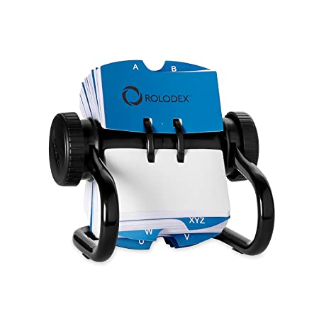 Rolodex Open Rotary Business Card File with 200 258 by 4 inch