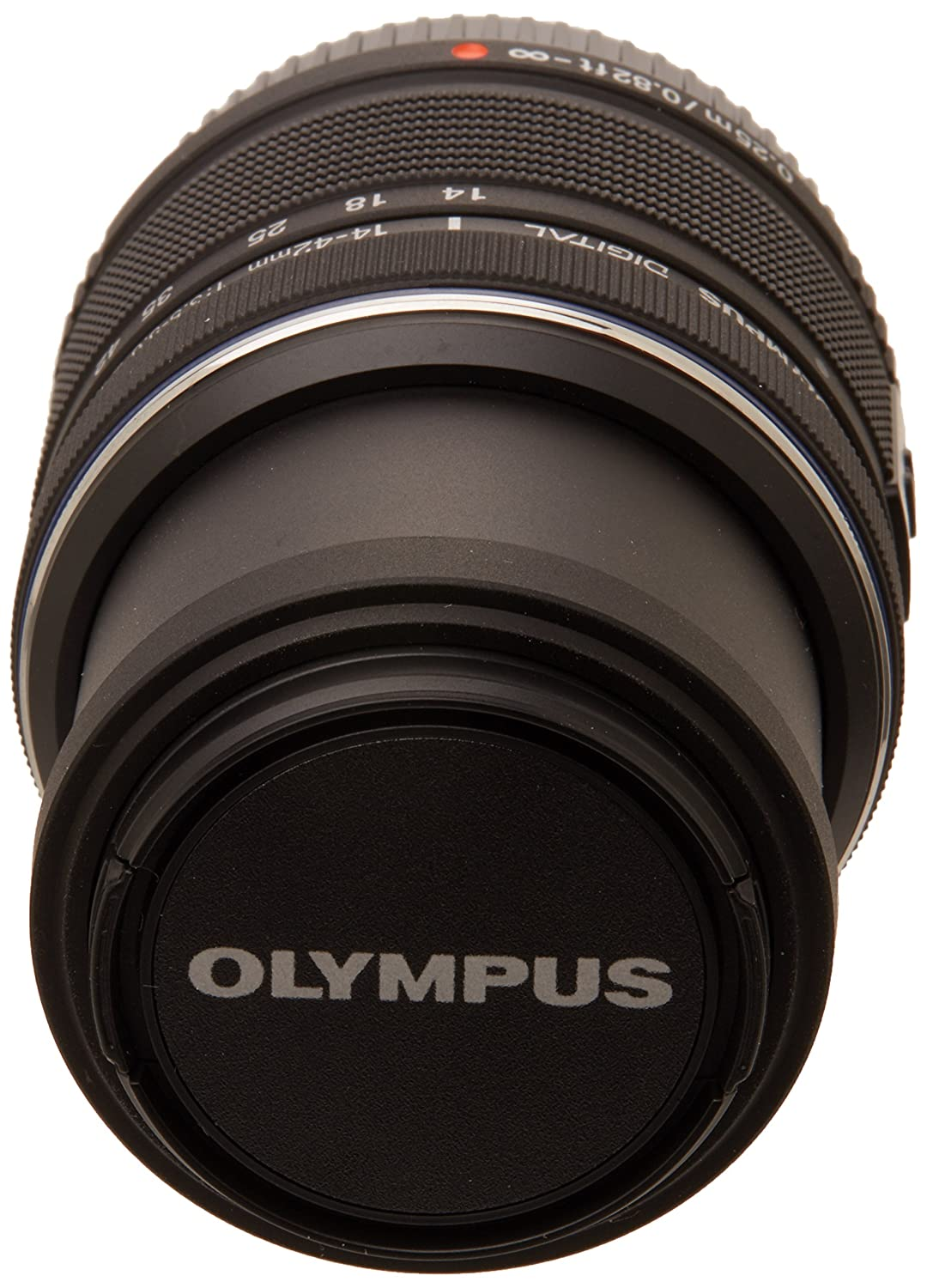 Olympus 14-42mm f/3.5-5.6 Ver. II R, Interchangeable Lens for Olympus / Panasonic Micro 4/3 Cameras, Black