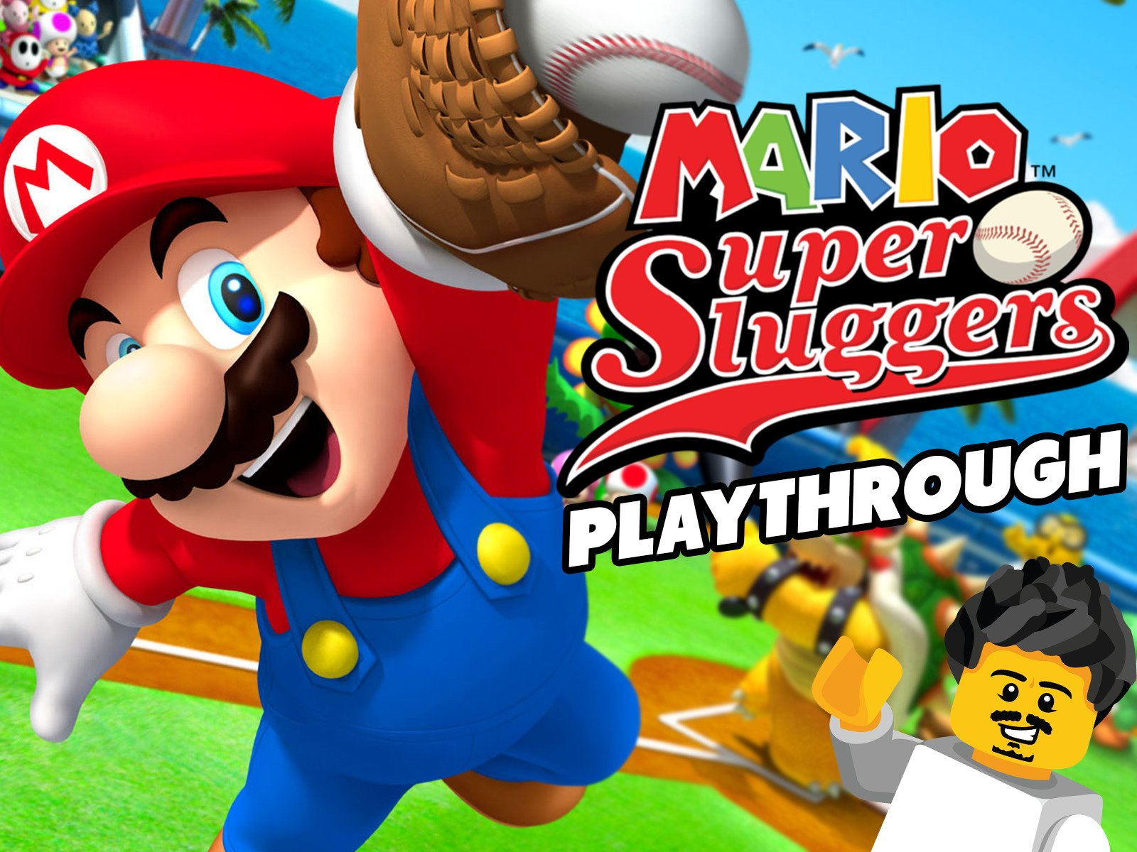 Mario Super Sluggers Playthrough - Season 1