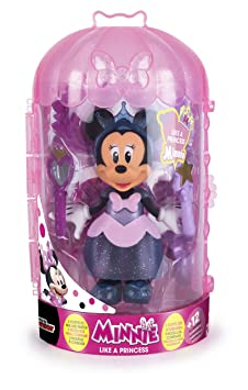IMC - 182172 - Minnie Fashionista Princesse Fig - Disney, 15 cm