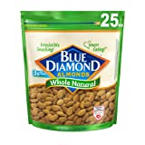 Blue Diamond Almonds, Whole Natural, 25 Ounce