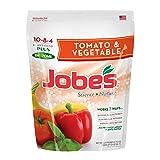 Jobe's Granular Vegetable & Tomato Fertilizer, Science + Nature Fertilizer with Biozome, 6 pound bag