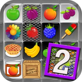 Fruit Drops Part II - Match Three (3) Puzzle