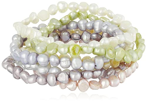 Dyed Pastel Colors Freshwater Cultured Pearl