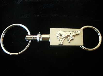 Ford Bronco Keychain Ford Bronco Brushed Silver