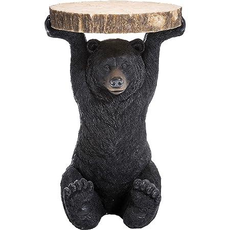 """Kare, Tavolino d'appoggio """"Orso"""" 76375 Beistelltisch Bear, Marrone (Braun)"""