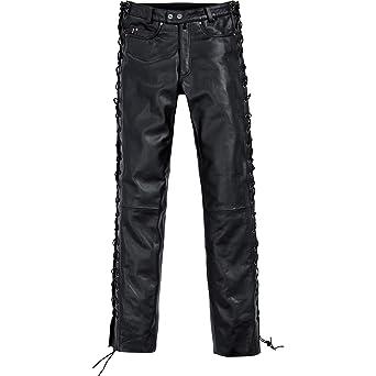 Spirit Motors Spirit Motors Pantalon en cuir à lacets 1.0