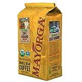 Mayorga Organics Cafe Cubano Dark Roast, 2 Pound, Whole Bean Coffee, Direct Trade, 100% USDA Organic Certified, Non-GMO, Kosher (Tamaño: 2 Pound)