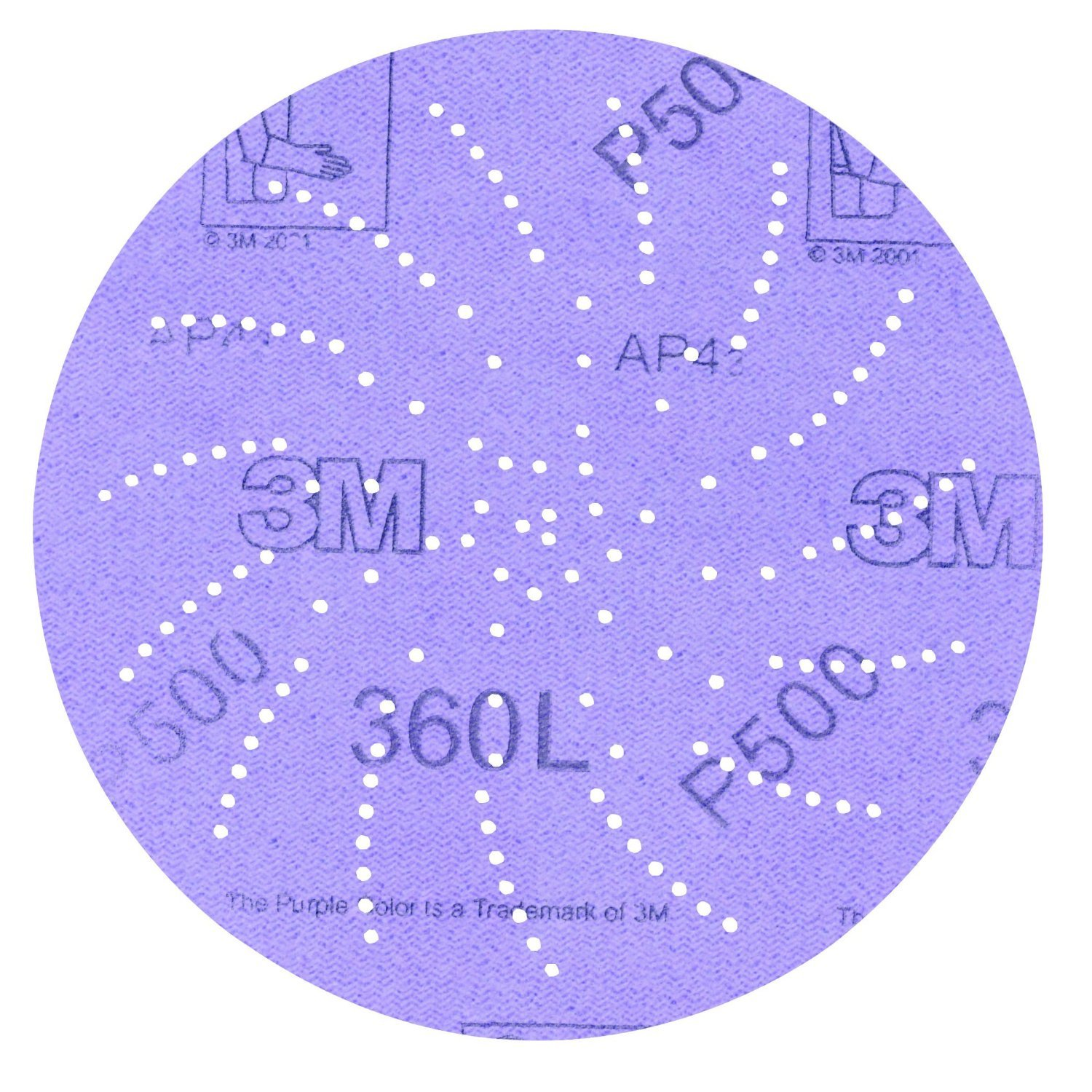 3M Clean Sanding Disc 360L, Film, Hook and Loop, Aluminum Oxide, 5 Diameter, P1000 Grit  (Pack of 100) physical and sensing properties of zinc oxide thin films