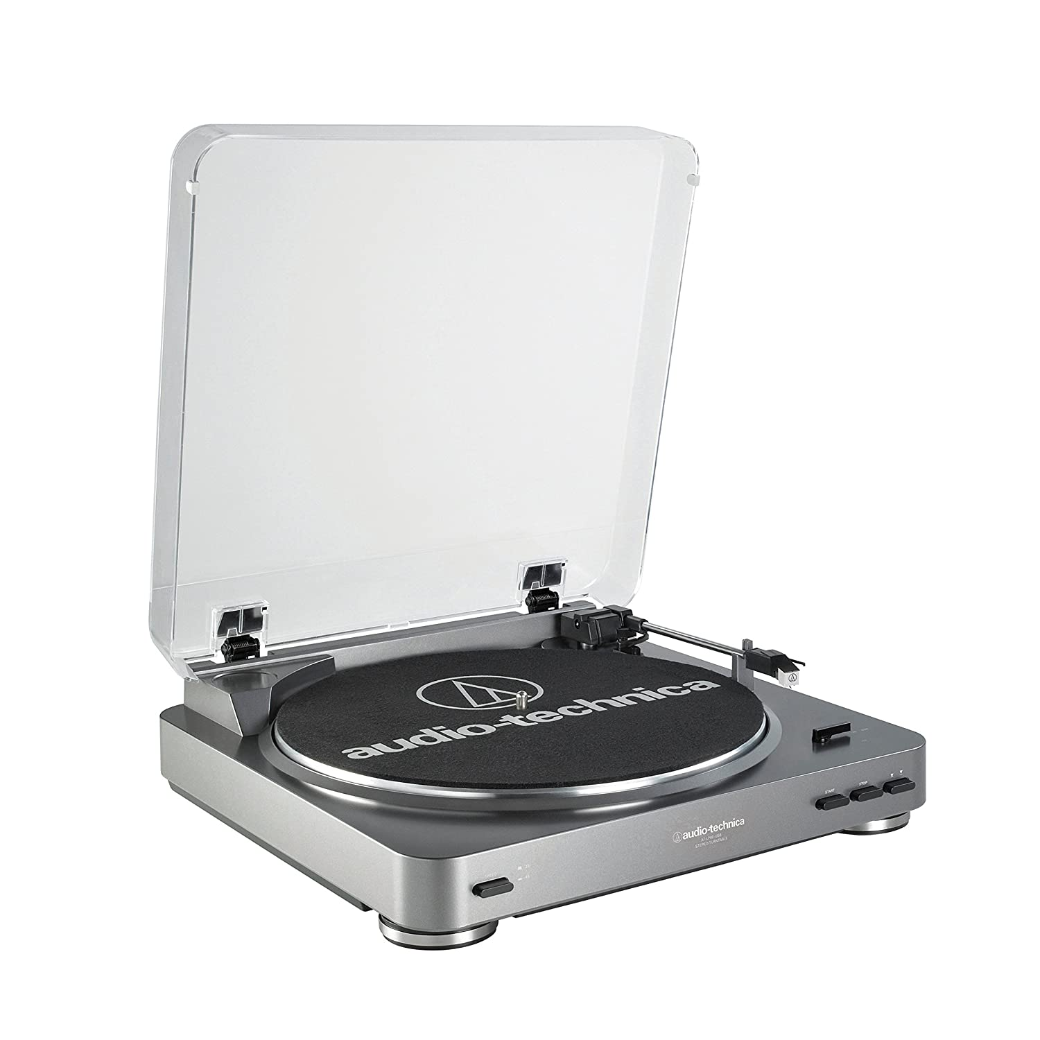 Audio-Technica AT-LP60-USB Fully Automatic Belt-Drive Stereo Turntable