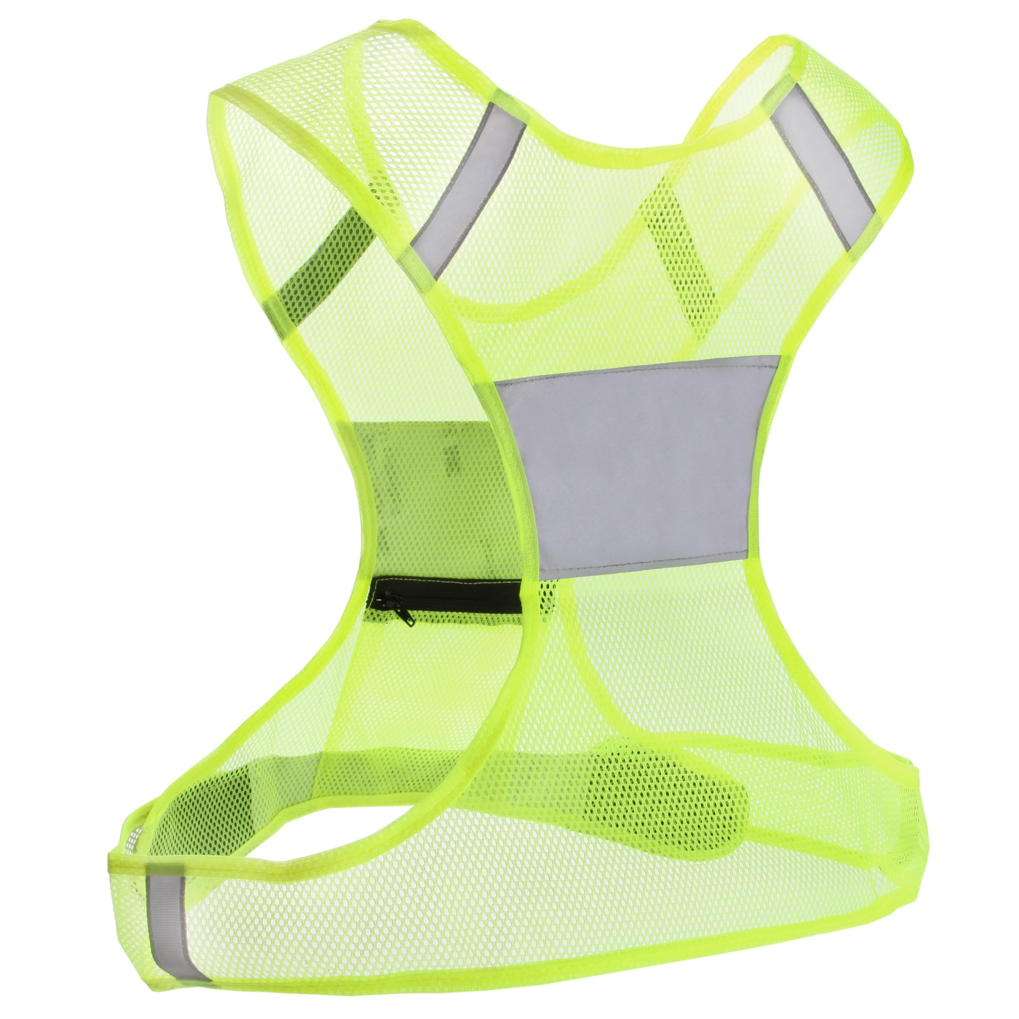 galleon reflective vest for running or cycling including two 3m safety reflective bands women. Black Bedroom Furniture Sets. Home Design Ideas