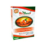 MiraBurst Easy-Melt Miracle Berry Tablets (10 Count), Synsepalum Dulcificum, Turns Sour and Acidic Food Sweet, Made from Organic Miracle Fruit (Tamaño: 10 Tablets)