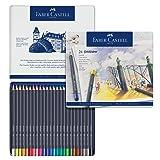 Faber Castell Goldfaber Color Pencils Tin Set, 24ct. (Color: 24 Count, Tamaño: 24 Count)